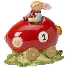 VILLEROY & BOCH Bunny Family Ei-Auto Osterhase Osterdeko Porzellanhase Ostern