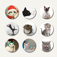 Cute Cat Pattern Fridge Magnet Refrigerator Sticker Travel Souvenir Decoration