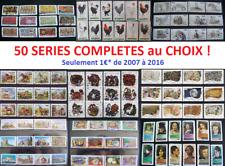 => TOUTES vos SERIES COMPLETES récentes  AU CHOIX à 1€* !!! Timbres France <=