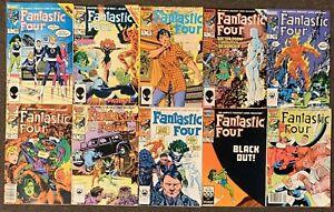 Fantastic Four #285,286,287,288,289,290,291,292,293,294 Marvel Comics 1985 Ser 1