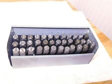 C.H. Hanson 36Pc Heavy Duty Steel Stamp 3/8� A-Z 0-8 and & 9/16� Shank 21630
