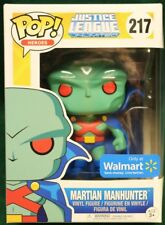 MARTIAN MANHUNTER #217 DC Comics Justice League Funko Pop WALMART EXCLUSIVE!