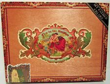 Solid Wood Empty Cigar Box - Flor de las Antillas Sun Grown by My Father Cigars