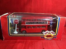 Diecast London Double Decker Bus Best of British Heritage London's Transport Box