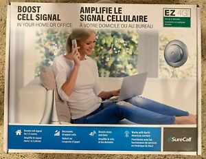 SureCall EZ 4G Easy Install Cell Phone Signal Booster for Homes and Buildings