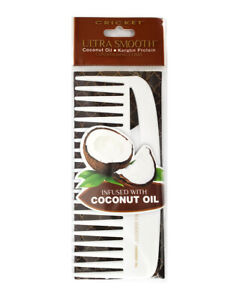 Cricket Ultra Smooth Conditioning Comb Coconut Oil Keratin Protein Hair Comb
