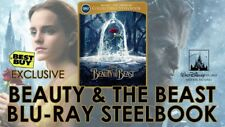 Beauty and the Beast - BB Limited Edition Steelbook Blu-ray + DVD+ Digital