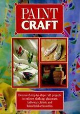 Paint Craft by Eaglemoss Staff (1995, Paperback)