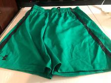 Under Armour Mens Basketball  Active Workout Shorts Green Medium M loose (M1)