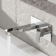 Brass Monobloc Mixer Wall Mounted Modern Bathroom Taps