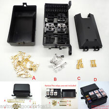 Autos relay fuse box 6 Relay 5 Road compartment insurance car insurance holder