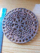 Caar Iron Vintage Hot Plate  Round