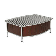 """Vollrath 4667570 21"""" Contoured Large Buffet Station With Wire Grill (Brown)"""