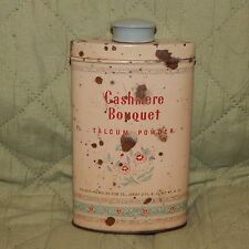 Vintage Avon Cotillion Perfumed Talc Tin
