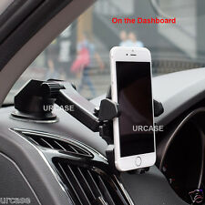 Universal Car 360° Windshield Mount Holder for Cell Phone GPS iPhone 6 6S Plus X