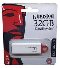 Kingston 32GB DTIG4 USB DataTraveler G4 32G USB 3.0 Pen Drive DTIG4/32GB Retail*