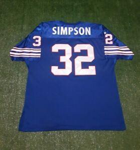 OJ Simpson NFL Buffalo Bills Size 56 Size 3XL Wilson Jersey Men