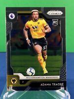 Adama Traore 2019-20 Panini Prizm Premier League #179 Rookie RC Wolverhampton
