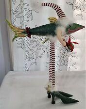 Patience Brewster Krinkles Christmas Fish Figure Dept 56