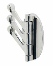 Garment Hook Triple Folding Door Hook for Office, Home, Restaurants or Hotels