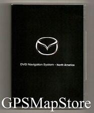2009 2010 Mazda Mazda5 Mazda6 CX9 RX8 Navigation DVD West Coast U.S Map + Canada
