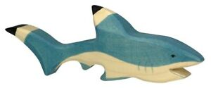 HOLZTIGER 80200: Shark, Collectable Wooden Toy NEW