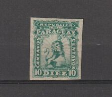 PARAGUAY South America classic lot anno 1879 IMPERFORATED TOP $$$$$$$$$