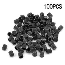 100pcs Plastic Tire Wheel Rims Stem Air Valve Caps Tyre Cover Car Truck Bike