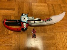 Power Rangers Megaforce Deluxe Mega Sabor Sword With - Key - Lights Sound