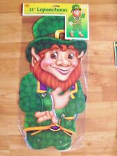 """33"""" Jointed St Patrick's Decoration 2002 Beistle Completely Assembled Nos"""