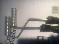 "fiberglass Bubble rollers 2pcs of 1""x3"" fin style style"