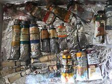 Oil Colors Vtg Mixed Lot 23 tubes