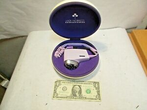 vintage Lady Norelco Purple Tripleheader Electric Shaver HP 2117 with Hard Case