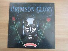 CRIMSON GLORY - Crimson Glory 1989 RARE White Label Korea Promo LP Vinyl
