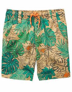NWT Gymboree Boy Pull on shorts Jurassic World 2T,7,8,10,12