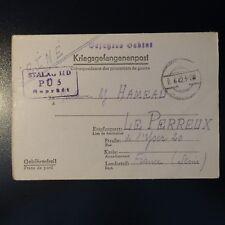 LETTRE PRISONNIER DE GUERRE STALAG II D 02.06.42 KRIEGSGEFANGENENPOST POW