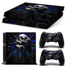 PS4 Skin & Controller Vinyl Sticker PlayStation 4 Skull High Quality
