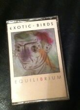 "EXOTIC BIRDS  ""Equilibrium"" NEW SEALED  OOP  SYNTH/POP  RARE Cassette Cle OH"