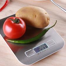 11lb x 0.05oz 5Kg x 1g Slim LCD Digital Kitchen Scale Weight Food Diet Postal M2