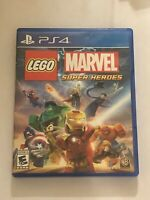 LEGO Marvel Super Heroes (Sony PlayStation 4, 2013) - COMPLETE- FREE SHIP