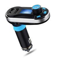 Bluetooth BT66 Transmetteur FM lecteur MP3 argent sans fil de multifonction a 1T