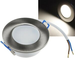 """3x LED-Einbauleuchte """"Flat-30 FR-R"""" 4000K Tageslichtweiß"""