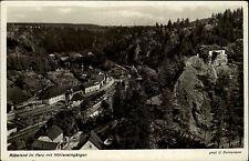 Rübeland Sachsen-Anhalt Harz 1936 Höhlen Höhleneingänge Foto Bornemann gelaufen