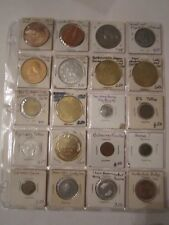 100 METAL TOKENS & MEDALS & MORE -COLLECTIBLE - METAL - FIND YOUR TREASURES - #1