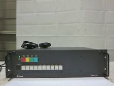 EXTRON System 10 Plus Configurable Input Switcher w/ Power Cord