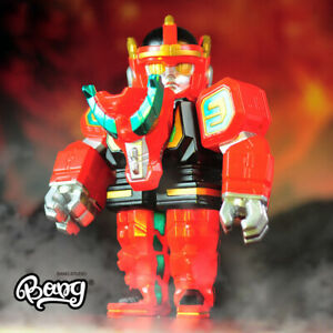 IN STOCK BLACKSEED POWER RAIDER SOFUBI Tokusatsu Vinyl Captain Dragon