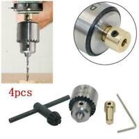 Mini motor micro drill chuck 0.3--4mm drill bit DIY New set tail hole throu C5A2