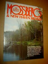 Vintage O.F. Mossberg & Sons 1982 Sporting Firearms Catalog & New Haven Brand