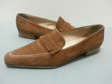 Peter Kaiser Women's Brown Suede Shoes Size UK 4 US 7 7.5