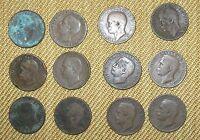 AFFARE: 12 monete da 10 Cent. tipo APE del Regno d'Italia V. Emanuele III  n 844